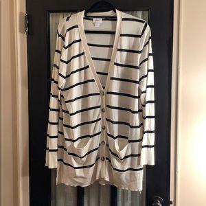 Long striped Cardi